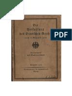 Der Friedensvertrag von Versailles - Unter Hervorhebung der abgeänderten Teile (1929)