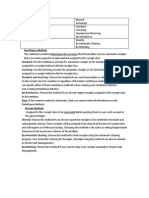 AR Accounting Entries