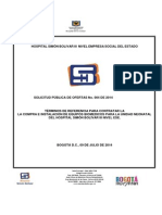 Terminos de Referencia Dotacion Neonatos 2014i004