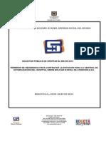 Terminos de Referencia Dotacion Esterilizacion 2014i006