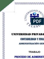 Monografia Proceso de La Administracion