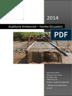 Auditoria Ambiental Yamba
