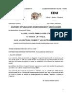 JOURNÉES RÉPUBLICAINES DES RÉFLEXIONS ET DES ÉCHANGES - JUIN 14