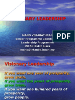 visionary leadership DSP