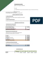 Ejercicio Presupuesto de Capital