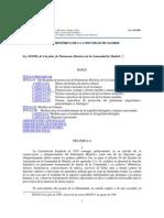 Ley 10/1998, de 9 de julio, de Patrimonio Histórico de la Comunidad de Madrid