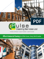 Cleaning Services Brochure