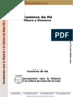 caminos de ifa obara y omoluos