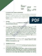 Modelo de Medida Cautelar de Embargo en Forma de Inscripcion Fuera de Proceso