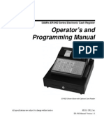 SAM4s ER-900 Series Operators Manual