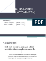 HALUSINOGEN  (PSIKOTOMIMETIK)