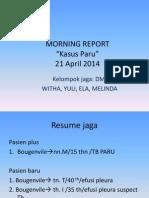 MR Paru 21 April 2014