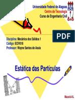 4 - Estatica Das Particulas