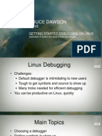 GETTING STARTED DEBUGGING ON LINUX