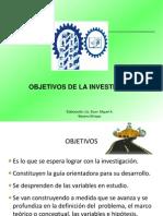 Objetivos de Investigacion 2014