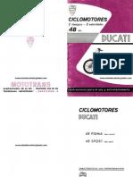 CICLOMOTORES+DUCATI+2T-3VEL