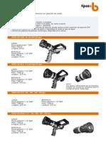 Lanza Con Regulacion de Caudal VIPER SG-3012 y SG-12250