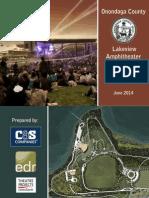 Onondaga County Lakeview Amphitheater Conceptual Design Report June 2014