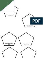 Pentagon shape door tag design