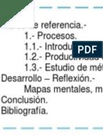 Ingeniería de Procesos.- Unidad 1.