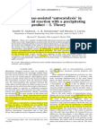 Microphase-Assisted Autocatalysis in a Solid-liquid Reaction With a Precipitating Product. Theory