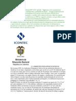 La Norma Técnica Colombiana NTC 4595