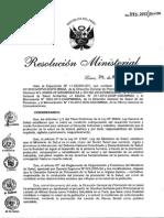Lavado de Manos RM Nº 773-2012 MINSA