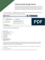 SAP PI 7 Monitoring in Single Stack