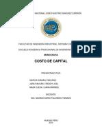Costo de Capital- Casi