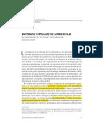 (c) Edel-Navarro Ruben - Entornos Virtuales de Aprendizaje - La Contribucion de Lo Virtual en Educacion