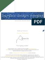 Surface design project by Chaithanya Ramkumar