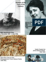 1. Surrealist Women- Carrington, Kahlo, Oppenheim, Bourgeois
