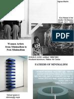 5. Minimalism - Hesse, Whiteread etc