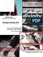 6. Scripto-Visual Art, Performance, Video, Photography