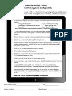 ipad technology contract