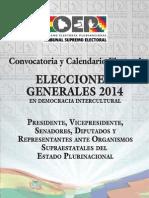 4. Calendario Electoral