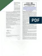 2005 HSBC Agreement With JAMS