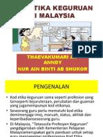 Kod Etiga Keguruan Di Malaysia n