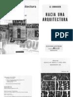 Le Corbusier - Hacia Una Arquitectura