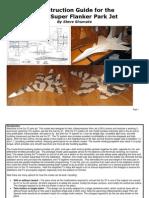 Su-37 Construction Guide Scratchbuild