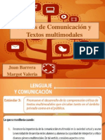 Medios de Comunicación y Textos Multimodales