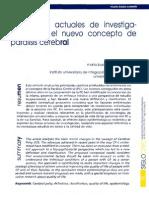 Tendencias Actuales Investigacion Ante Nuevo Concepto Paralisis Cerebral