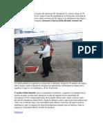 Una Persona Murió Hoy en La Pista de Aterrizaje Del Aeropuerto La Aurora