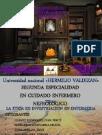 Etica Investigacion