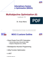 Multiobjective Optimization