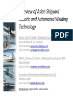 050812 Review of Asian SY Robotic and Automated Welding Technology
