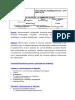 Plano_Ensino Adm Materiais II 2014_1