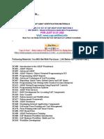SAP ABAP Certification