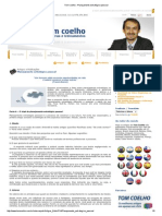 Tom Coelho - Planejamento Estratégico Pessoal
