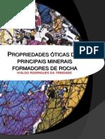 Propriedades Óticas Dos Principais Minerais Formadores de Rocha